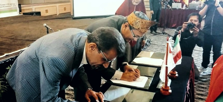 (MOU signing with STIFAR( Indonesia