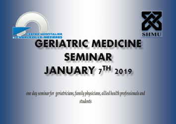 Seminar on Geriatric Medicine 7th January 2019